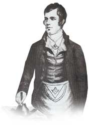 Robert Burns as Depute Master